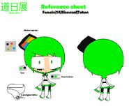 Michi Nitten Reference Sheet