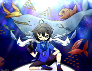 Ou re underwater by starry shizen by kurisuxgrellsutcliff-d7ll552