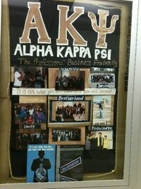 Alpha Kappa Psi Board