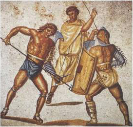 File:Retiarius stabs secutor (color).jpg