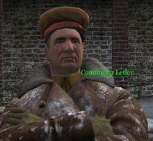 Commissar Letlev CoD2
