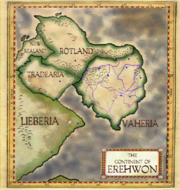 Antique map of Erehwon