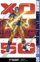 X-O Manowar Vol 3 50 Rivera Variant