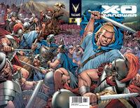 X-O Manowar Vol 3 1 2nd Printing Wraparound