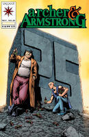 Archer and Armstrong Vol 2 25 Calafiore Variant