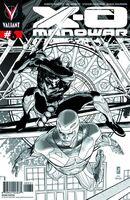 X-O Manowar Vol 3 6 2nd Printing