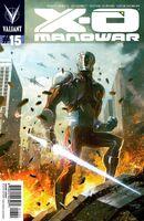 X-O Manowar Vol 3 15 Ladronn Variant