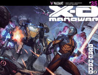 X-O Manowar Vol 3 35 Molina Variant Wraparound