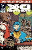 X-O Manowar Vol 3 25 Roberts Variant