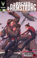 Archer and Armstrong Vol 2 19 Molina Variant