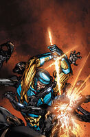 X-O Manowar Vol 3 34 Guice Variant Textless