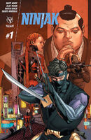 Ninjak Vol 3 1 Mann Variant