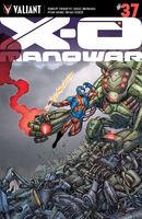 X-O Manowar Vol 3 37 Portela Variant