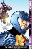 X-O Manowar Vol 3 50 Jimenez Variant