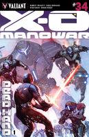 X-O Manowar Vol 3 34 Molina Variant
