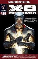 X-O Manowar Vol 3 25 2nd Printing
