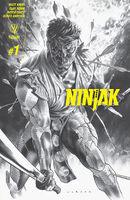 Ninjak Vol 3 1 Sketch Variant