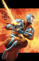 X-O Manowar Vol 3 5 Zircher Variant X-O Manowar Textless