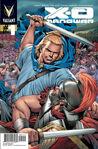 X-O Manowar Vol 3 1 2nd Printing