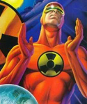Solar Man of the Atom Portal