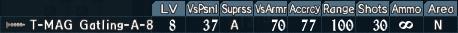 Gatling turret 2-8