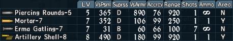 Artillery utility 1-5