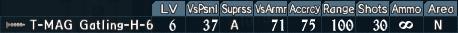 Gatling turret 4-6