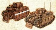 Imperial Light Tanks