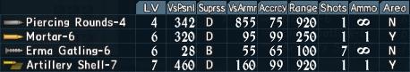 Artillery utility 1-3