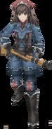 VC3 Alicia Melchiott Render - Gallian Army Scout