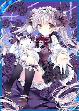 Princess Black Rose