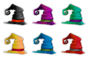 Archwitch's Hat Set