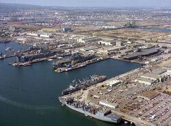 Long beach naval-shipyard