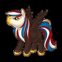 Proud Emblem Pegasus Baby