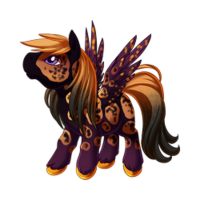 All Hallows' Eve Pegasus Baby