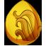 Liquid Gold Unicorn Egg