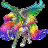 Confusion Alicorn Rainbow