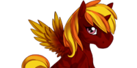Fire Alicorn
