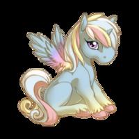Soft Yarn Alicorn Baby