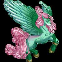 Sparkling Pistachio Pegasus