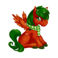 Chilly Pepper Alicorn Baby