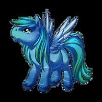 Sea Light Pegasus Baby