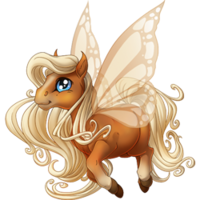 Flaxen Chestnut Spring Fairy