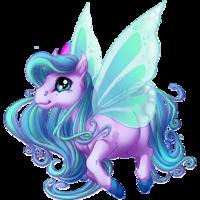 Wisteria Spring Fairy