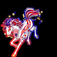 Patriotic Unicorn