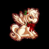 Merry Caroler Alicorn Baby