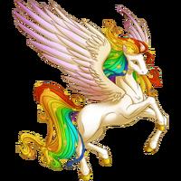 Celestial Rainbow Pegasus