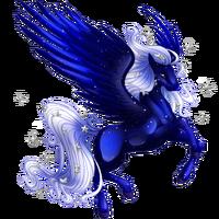 Winter Night Pegasus