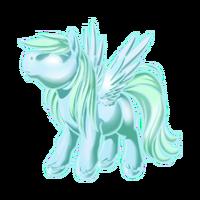 Glass Ghost Pegasus Baby