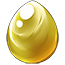 Gold Alicorn Egg